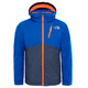 The North Face Youth Snowquest Plus Jacket Bright Cobalt Blue